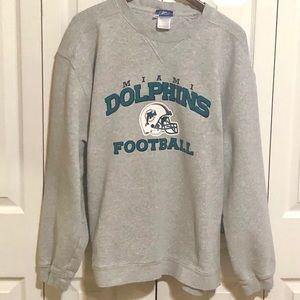 Miami Dolphins XL Reebok Sweatshirt